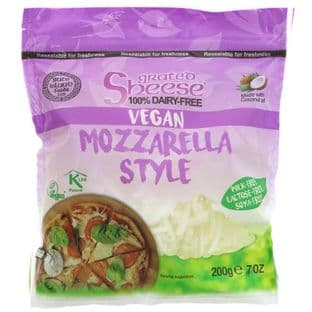 Bute Island Foods Grated Mozzarella Style - 200g